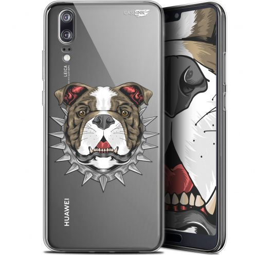 "Extra Slim Gel Huawei P20 (5.8"") Case Design Doggy"