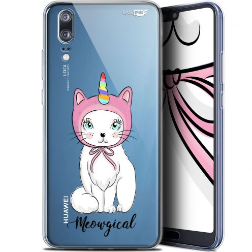 "Extra Slim Gel Huawei P20 (5.8"") Case Design Ce Chat Est MEOUgical"