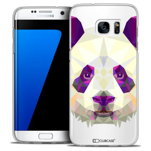 Extra Slim Crystal Galaxy S7 Edge Case Polygon Animals Panda