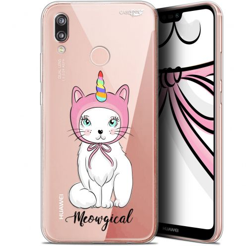 "Extra Slim Gel Huawei P20 Lite (5.84"") Case Design Ce Chat Est MEOUgical"