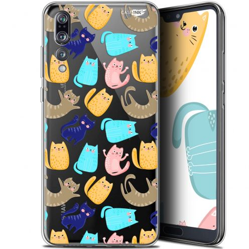 "Extra Slim Gel Huawei P20 Pro (6.1"") Case Design Chat Danse"