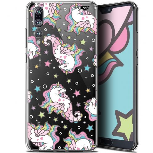 "Extra Slim Gel Huawei P20 Pro (6.1"") Case Design Licorne Dormante"