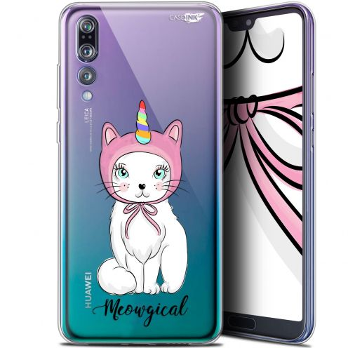 """Extra Slim Gel Huawei P20 Pro (6.1"""") Case Design Ce Chat Est MEOUgical"""