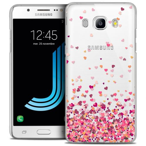Extra Slim Crystal Galaxy J5 2016 (J510) Case Sweetie Heart Flakes