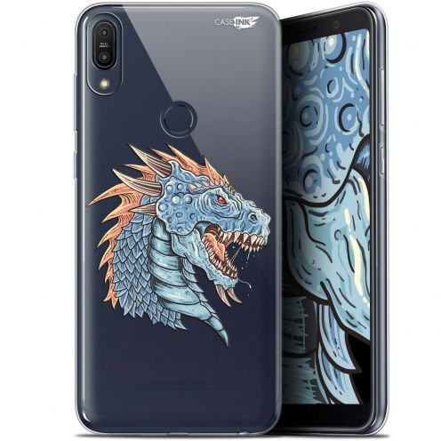 "Extra Slim Gel Asus Zenfone Max Pro (M1) ZB601KL/602KL (6"") Case Design Dragon Draw"