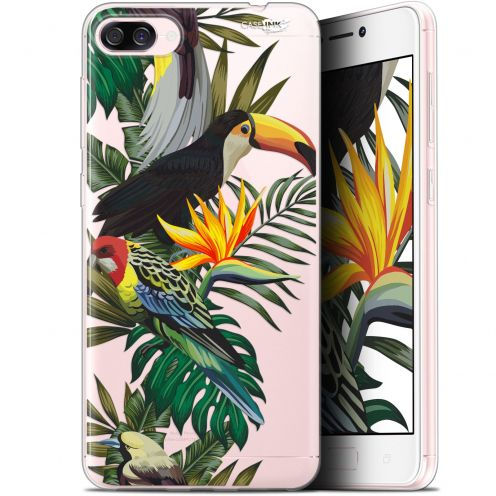 "Extra Slim Gel Asus Zenfone 4 Max ZC520KL (5.2"") Case Design Toucan Tropical"