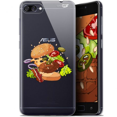 "Extra Slim Gel Asus Zenfone 4 Max ZC520KL (5.2"") Case Design Splash Burger"