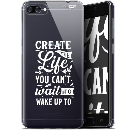 "Extra Slim Gel Asus Zenfone 4 Max ZC520KL (5.2"") Case Design Wake Up Your Life"