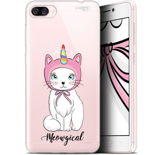 "Extra Slim Gel Asus Zenfone 4 Max ZC520KL (5.2"") Case Design Ce Chat Est MEOUgical"