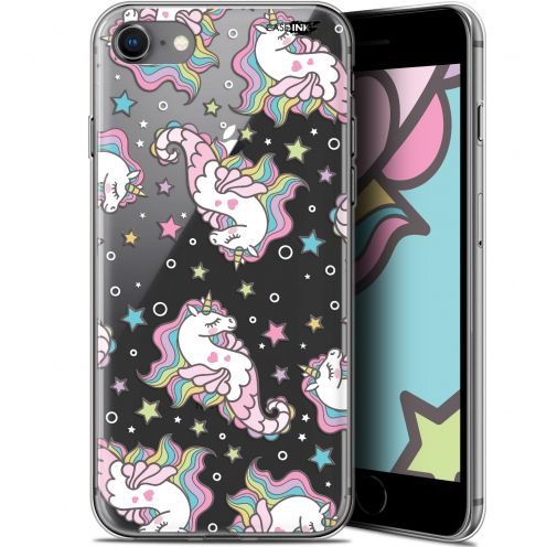 "Extra Slim Gel Apple iPhone 7/8 (4.7"") Case Design Licorne Dormante"