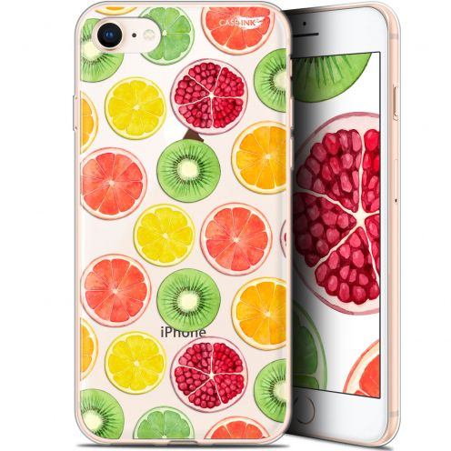 "Extra Slim Gel Apple iPhone 7/8 (4.7"") Case Design Fruity Fresh"