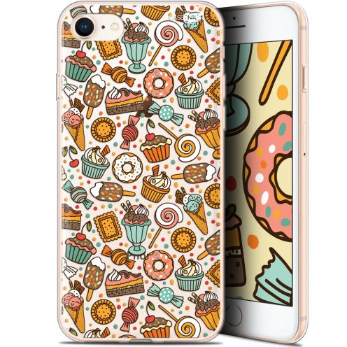 "Extra Slim Gel Apple iPhone 7/8 (4.7"") Case Design Bonbons"