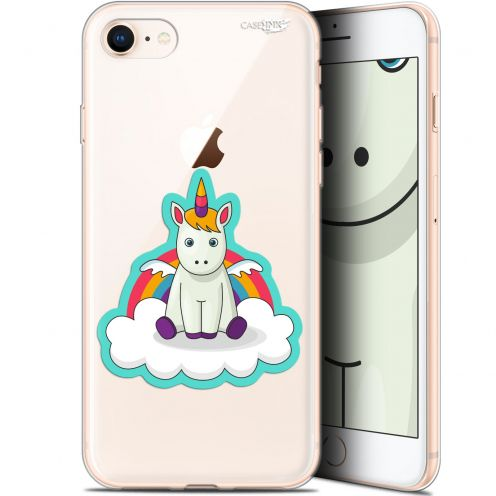 "Extra Slim Gel Apple iPhone 7/8 (4.7"") Case Design Bébé Licorne"