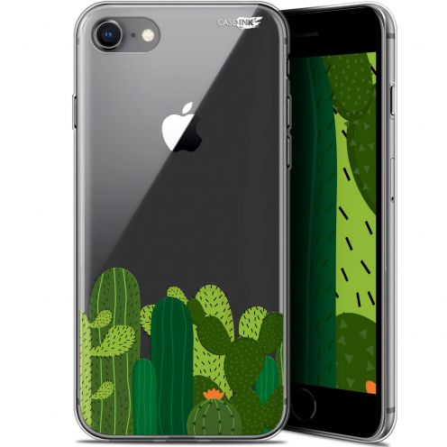 "Extra Slim Gel Apple iPhone 7/8 (4.7"") Case Design Cactus"