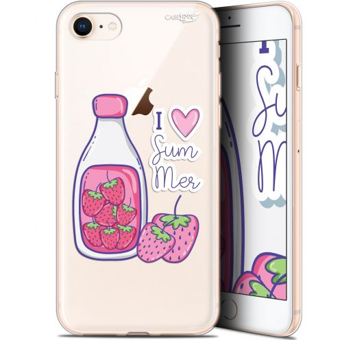"Extra Slim Gel Apple iPhone 7/8 (4.7"") Case Design Milky Summer"