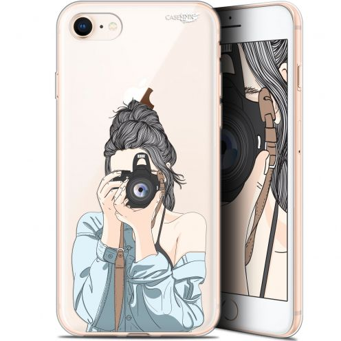 "Extra Slim Gel Apple iPhone 7/8 (4.7"") Case Design La Photographe"