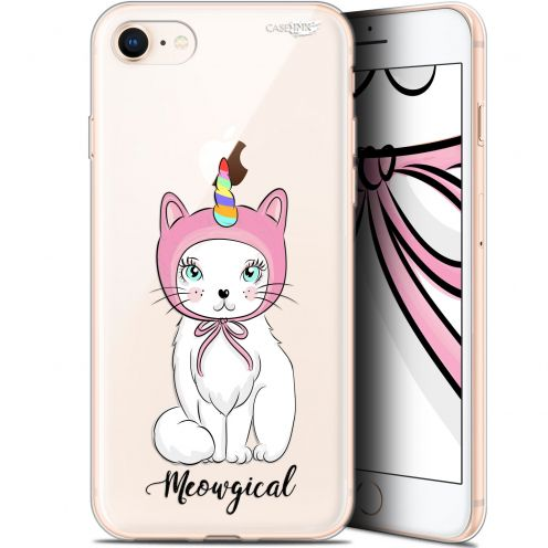 "Extra Slim Gel Apple iPhone 7/8 (4.7"") Case Design Ce Chat Est MEOUgical"