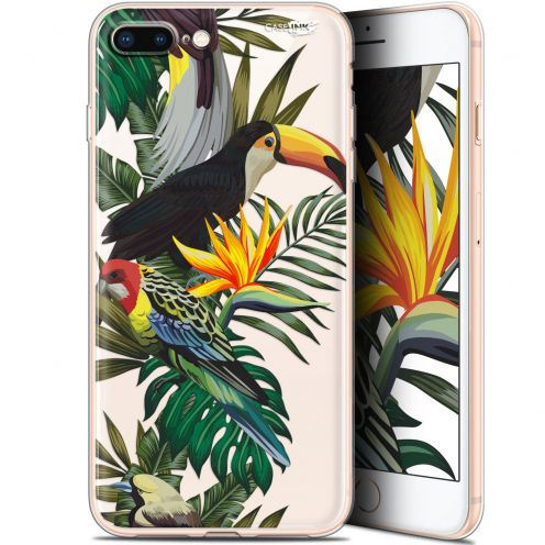 "Extra Slim Gel Apple iPhone 7/8 Plus (4.7"") Case Design Toucan Tropical"