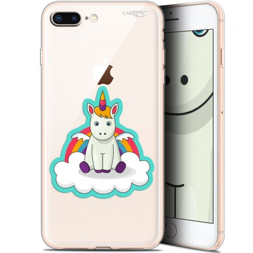 "Extra Slim Gel Apple iPhone 7/8 Plus (4.7"") Case Design Bébé Licorne"