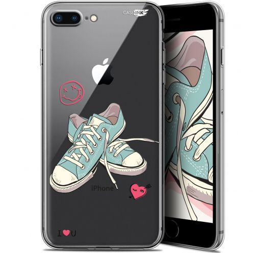 "Extra Slim Gel Apple iPhone 7/8 Plus (4.7"") Case Design Mes Sneakers d'Amour"