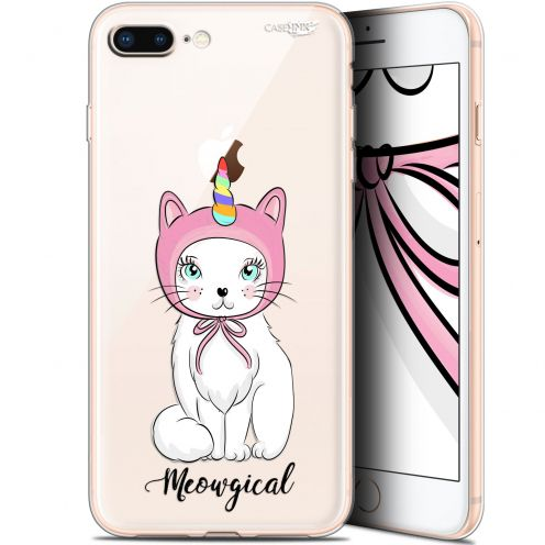 "Extra Slim Gel Apple iPhone 7/8 Plus (4.7"") Case Design Ce Chat Est MEOUgical"