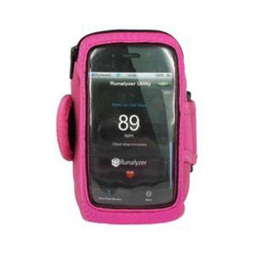 Runalyzer ® Armband for iPhone 3 G / iPhone 4 / 4s / Touch pink S