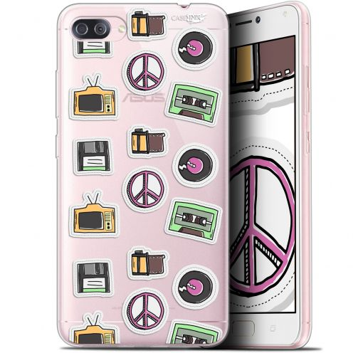 "Extra Slim Gel Asus Zenfone 4 MAX PLUS / Pro ZC554KL (5.5"") Case Design Vintage Stickers"