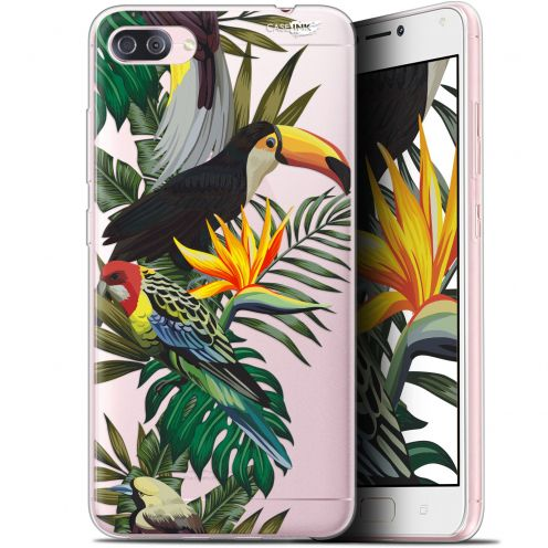 "Extra Slim Gel Asus Zenfone 4 MAX PLUS / Pro ZC554KL (5.5"") Case Design Toucan Tropical"