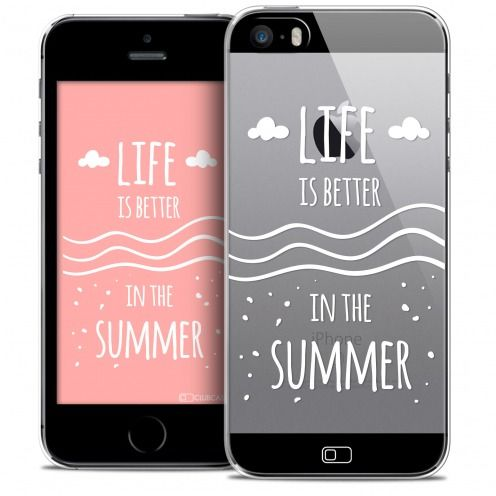 Extra Slim Crystal iPhone SE/5/5s Case Summer Life's Better