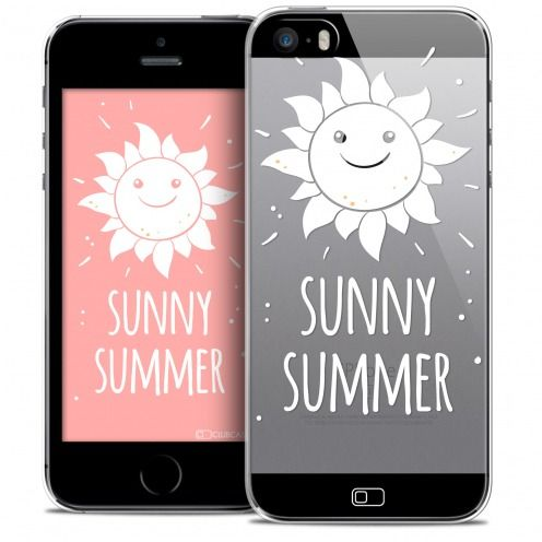 Extra Slim Crystal iPhone SE/5/5s Case Summer Sunny Summer