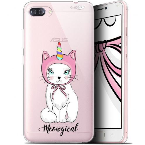 "Extra Slim Gel Asus Zenfone 4 MAX PLUS / Pro ZC554KL (5.5"") Case Design Ce Chat Est MEOUgical"