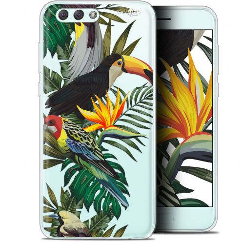 "Extra Slim Gel Asus Zenfone 4 ZE554KL (5.5"") Case Design Toucan Tropical"