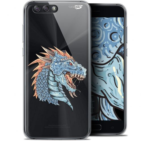 "Extra Slim Gel Asus Zenfone 4 ZE554KL (5.5"") Case Design Dragon Draw"