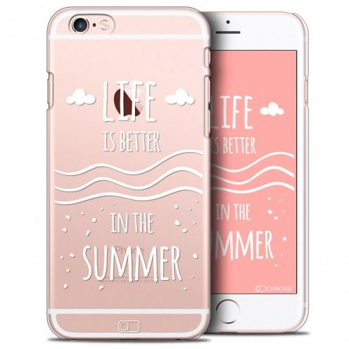 Extra Slim Crystal iPhone 6/6s Plus Case Summer Life's Better