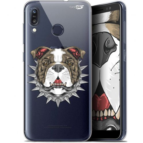 "Extra Slim Gel Asus Zenfone Max (M1) ZB555KL (5.5"") Case Design Doggy"
