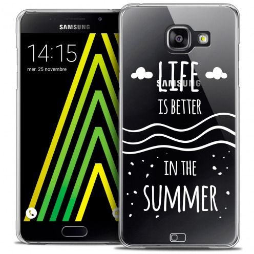 Extra Slim Crystal Galaxy A5 2016 (A510) Case Summer Life's Better