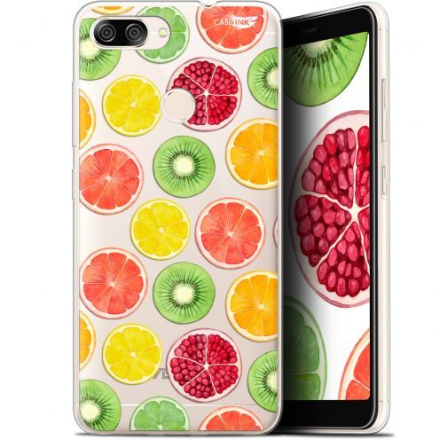 "Extra Slim Gel Asus Zenfone Max Plus (M1) ZB570TL (5.7"") Case Design Fruity Fresh"
