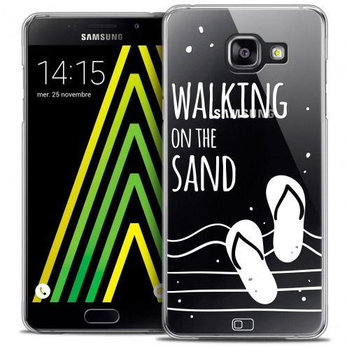 Extra Slim Crystal Galaxy A5 2016 (A510) Case Summer Walking on the Sand