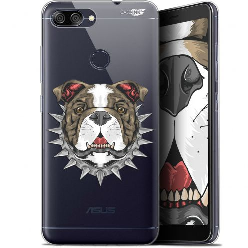"Extra Slim Gel Asus Zenfone Max Plus (M1) ZB570TL (5.7"") Case Design Doggy"