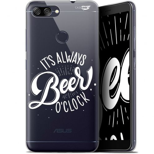 "Extra Slim Gel Asus Zenfone Max Plus (M1) ZB570TL (5.7"") Case Design Its Beer O'Clock"