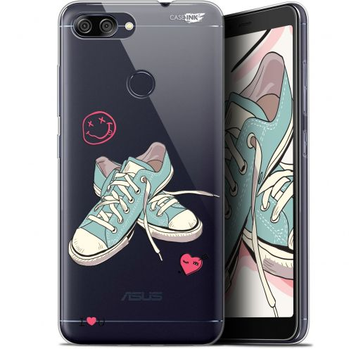 "Extra Slim Gel Asus Zenfone Max Plus (M1) ZB570TL (5.7"") Case Design Mes Sneakers d'Amour"