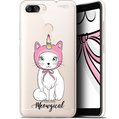 "Extra Slim Gel Asus Zenfone Max Plus (M1) ZB570TL (5.7"") Case Design Ce Chat Est MEOUgical"