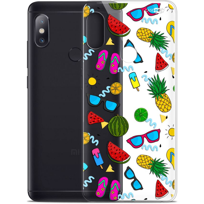 "Extra Slim Gel Xiaomi Redmi Note 5 (5.99"") Case Design Summers"