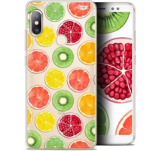 "Extra Slim Gel Xiaomi Redmi Note 5 (5.99"") Case Design Fruity Fresh"