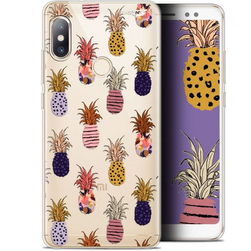 "Extra Slim Gel Xiaomi Redmi Note 5 (5.99"") Case Design Ananas Gold"
