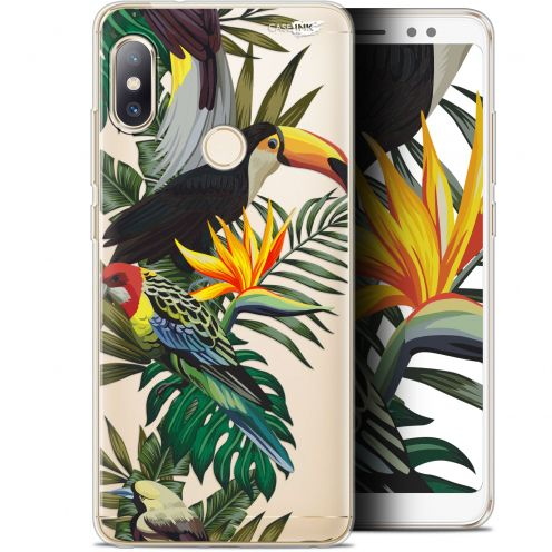 "Extra Slim Gel Xiaomi Redmi Note 5 (5.99"") Case Design Toucan Tropical"