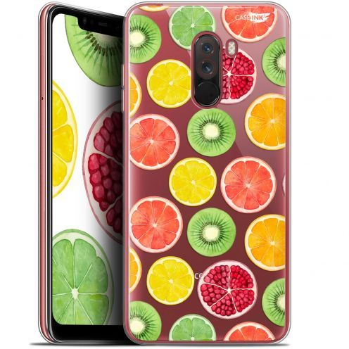 "Extra Slim Gel Xiaomi Pocophone F1 (6.18"") Case Design Fruity Fresh"