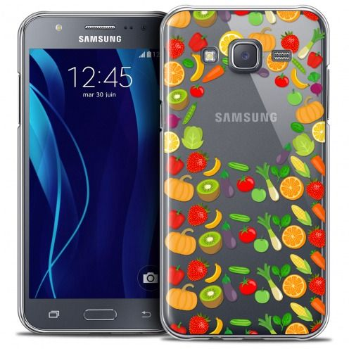 Extra Slim Crystal Galaxy J5 (J500) Case Foodie Healthy