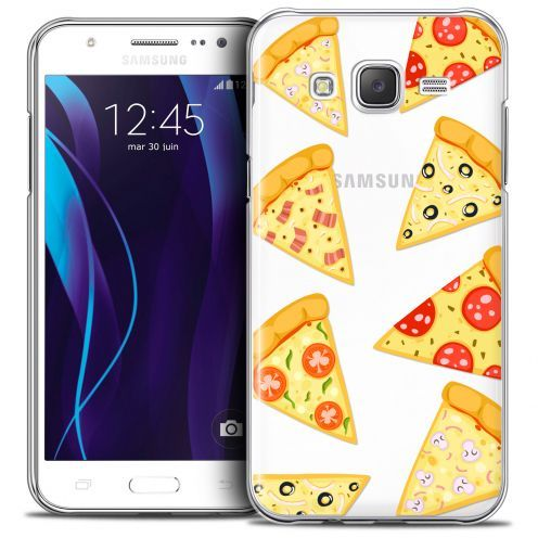 Extra Slim Crystal Galaxy J7 (J700) Case Foodie Pizza