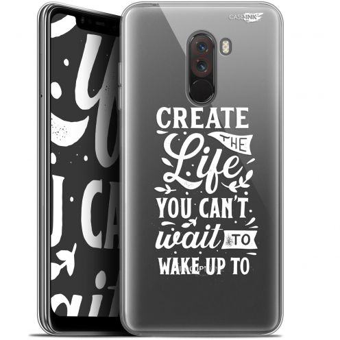 "Extra Slim Gel Xiaomi Pocophone F1 (6.18"") Case Design Wake Up Your Life"